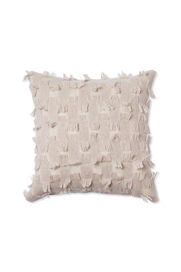 Oyuna Seren Cashmere Cushion Cover - Beige/Blush