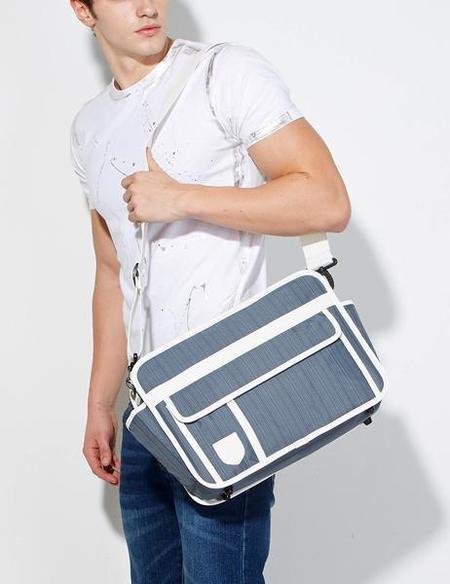 Unisex Goodordering Messenger Convertible Pannier Bag