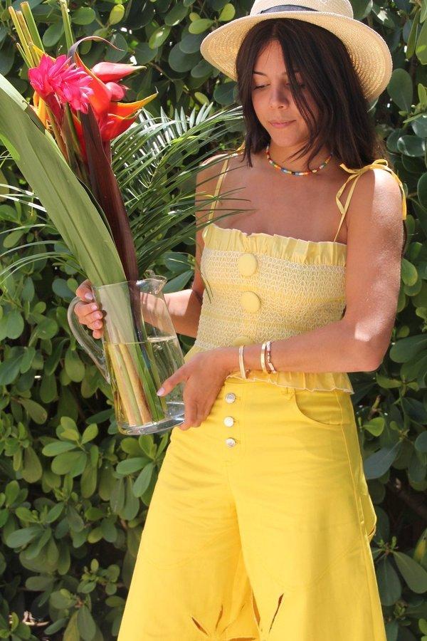 House of Sunny Americana Top - Marigold