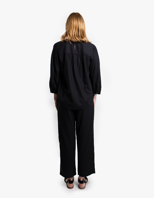 Rodebjer Vanja blouse - black
