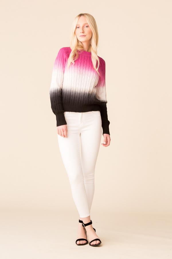 L'Agence Margot High Rise Skinny - Blanc