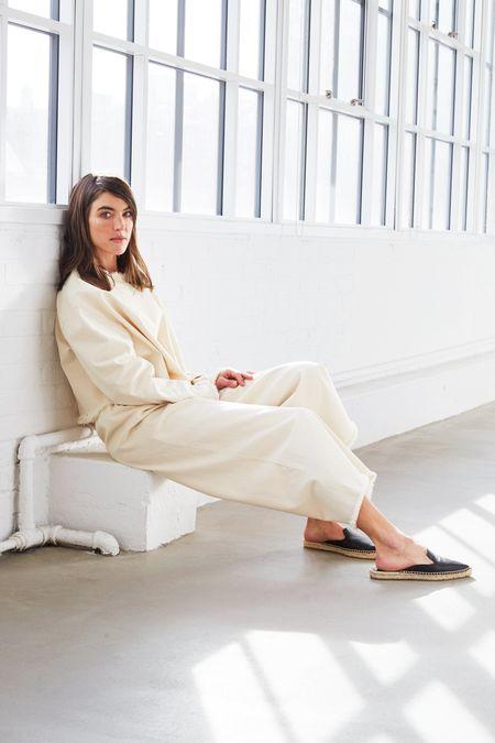Ashley Rowe Long Sleeve Tee - Natural