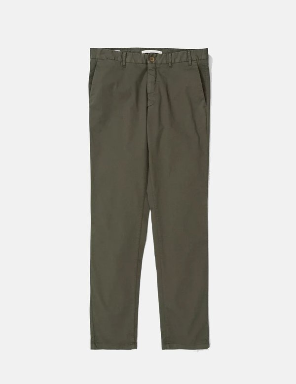 Norse Projects Aros  Light Stretch Slim Chino - Ivy Green