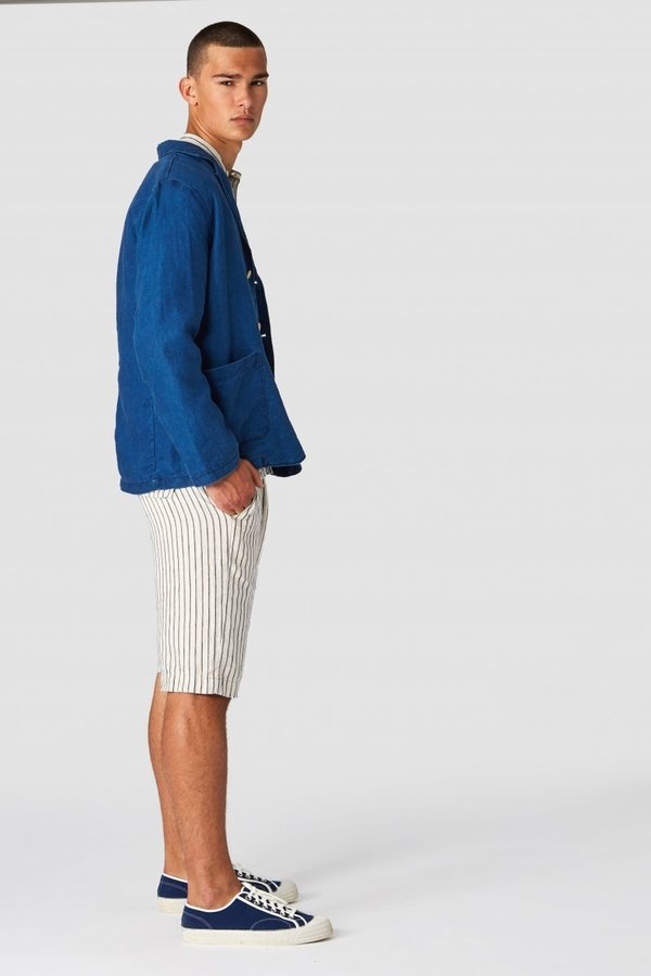 Kings Of Indigo Cronus Linen Shorts