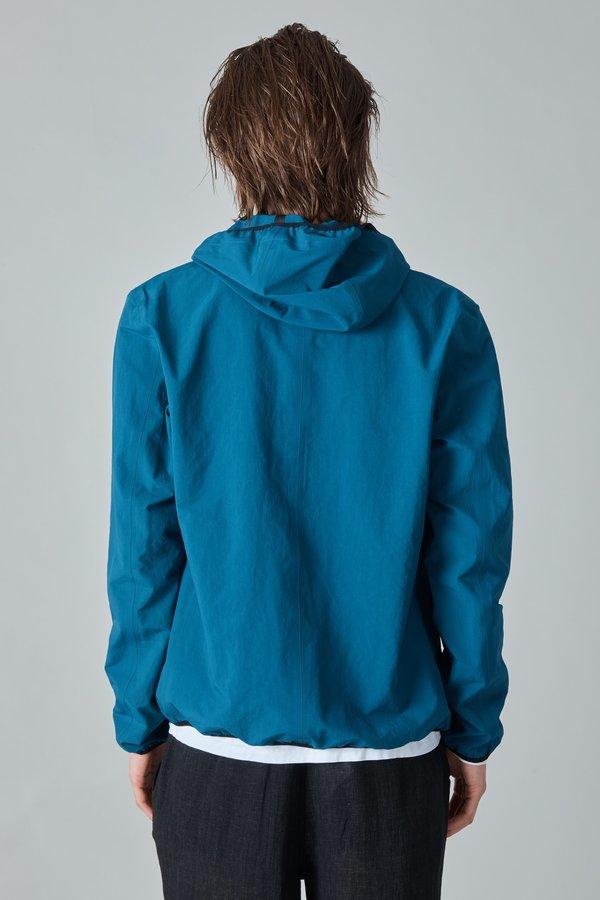 Herno Plaster Hooded Jacket - Teal