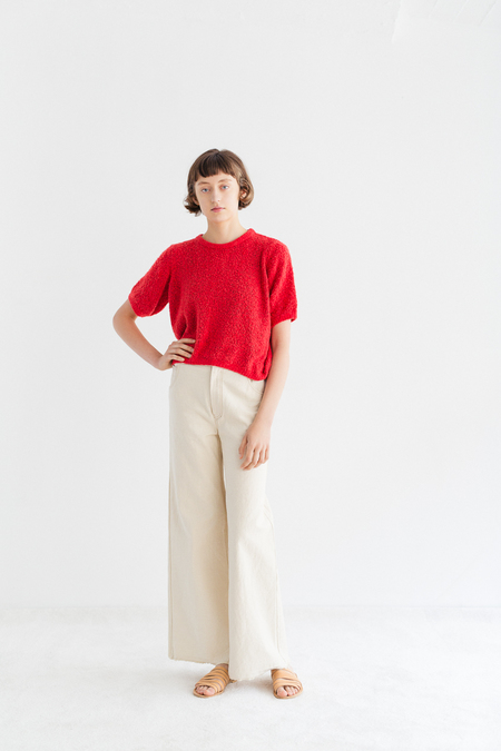 Samuji Bruna Sweater in Botanic - Red