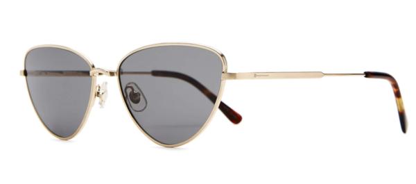 Crap Eyewear The Polarized Honey Buzz Sunglasses - Brushed Gold