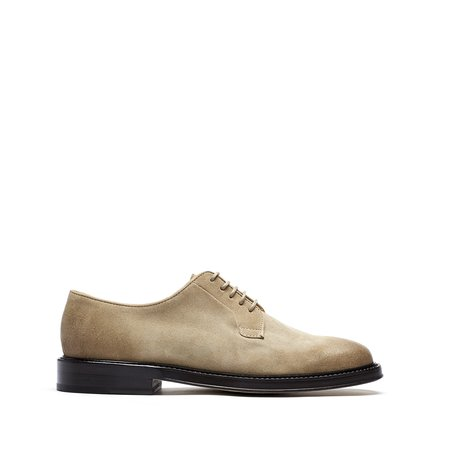 Brother x Frère Dean Oxfords - Sand Suede
