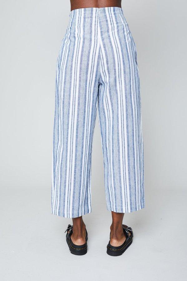 Native Youth Shemiah Pant - Blue/White