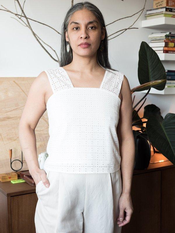 Dagg & Stacey Yara Blouse - White
