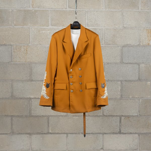 Bed J.W. Ford Double Jacket - Mustard