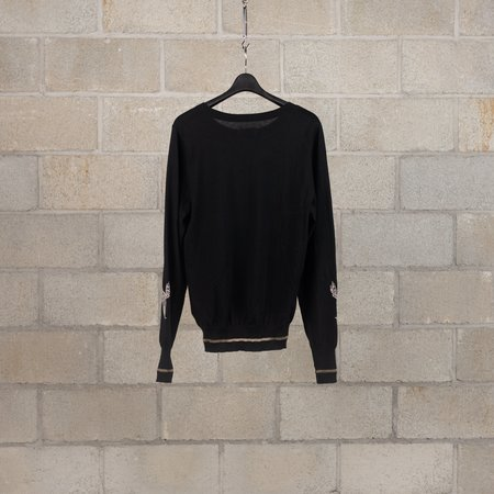 Bed J.W. Ford Horse Knit Version 1 Sweater - Black