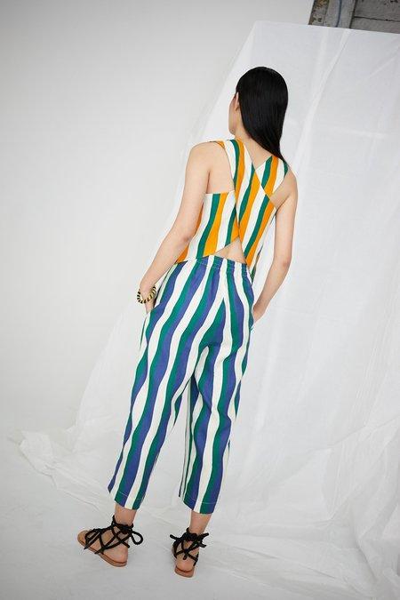 WHiT Luna Top - Wavy Stripes