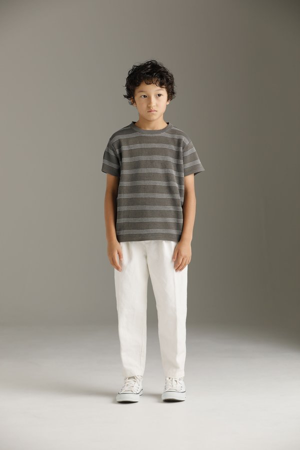 Kid's unisex Arch & Line Chino Pant - Off-White