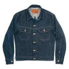 Men's Taylor Stitch The Long Haul Jacket in Cone Mills '68 Selvage