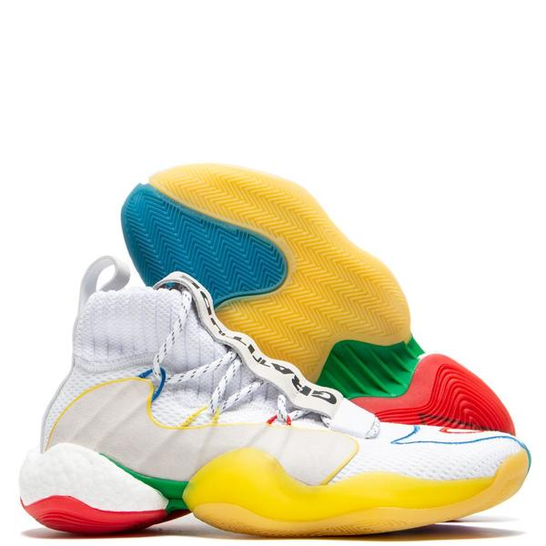 lowest price 4aa00 f320c adidas by Pharrell Williams BYW LVL X - White