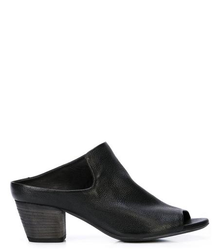Officine Creative Leather Adele Mule - Black