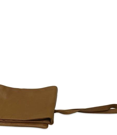 FURLING BY GIANI Nappa Belt - Dark Tan