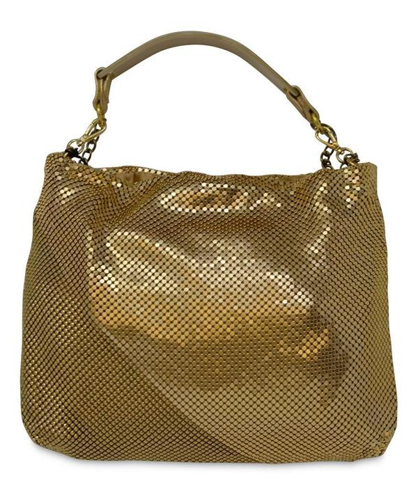 Laura B Mini Rocky Bag - Gold