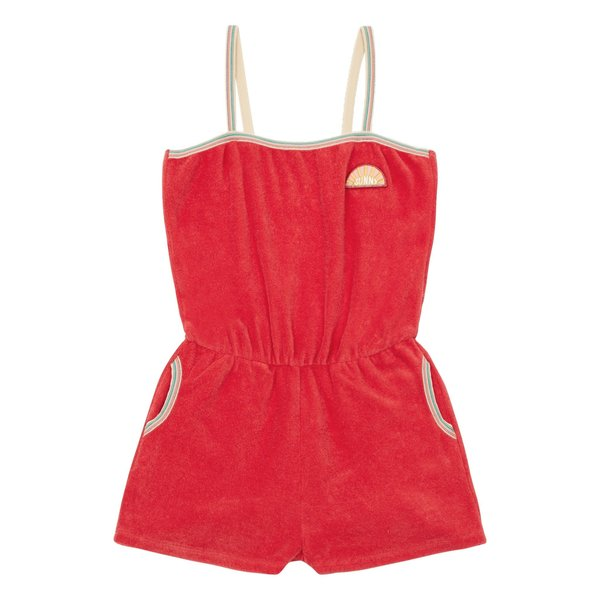 Kids Hundred Pieces Sunny Terry Cloth Playsuit
