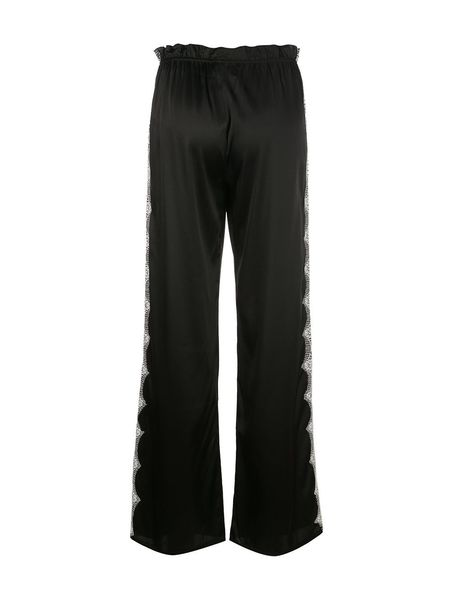 Icons Silk Trousers - Black