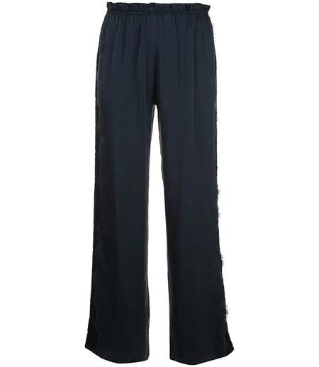 Icons Camelia Silk Trousers - Navy