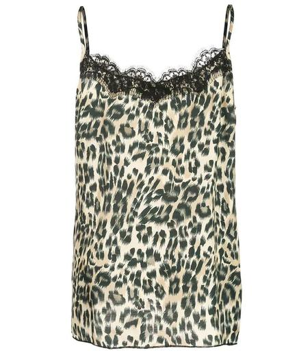 Icons Lace Top - Leopard