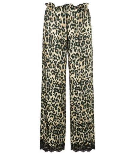 Icons Lace Trousers - Tiger