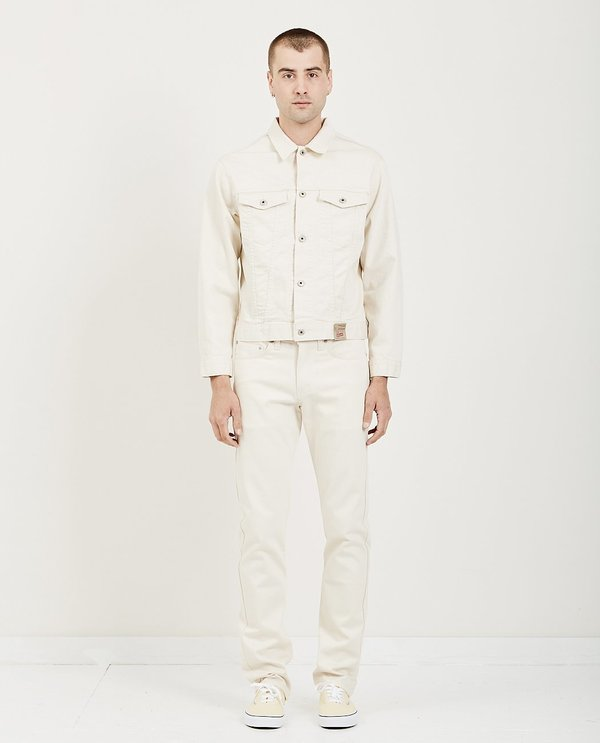 Naked & Famous Denim Jacket - Natural Seed