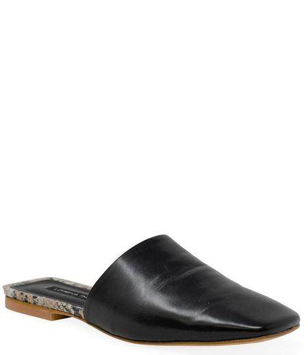 Lorena Paggi Flat Slip On Sandal - Black