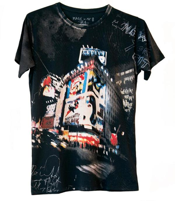 Unisex Made in Me 8 Bang Bang T-shirt - Black/Multi