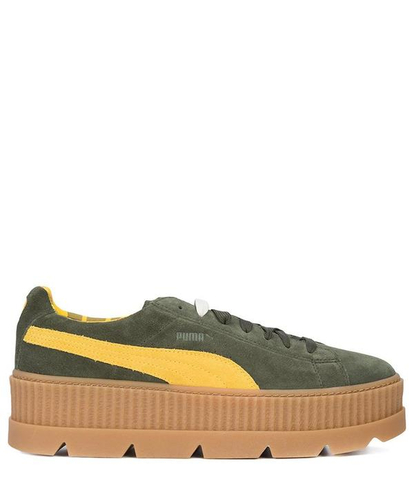 new concept 53fdf 24766 Puma x Rihanna Fenty Suede Cleated Creeper - Rosin on Garmentory