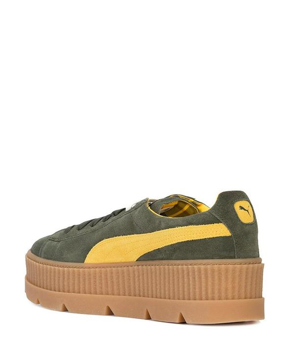 Puma x Rihanna Fenty Suede Cleated Creeper Rosin
