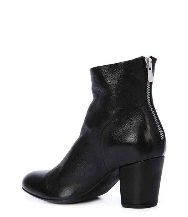 Officine Creative Leather Julie/001 Ankle Boot - Black