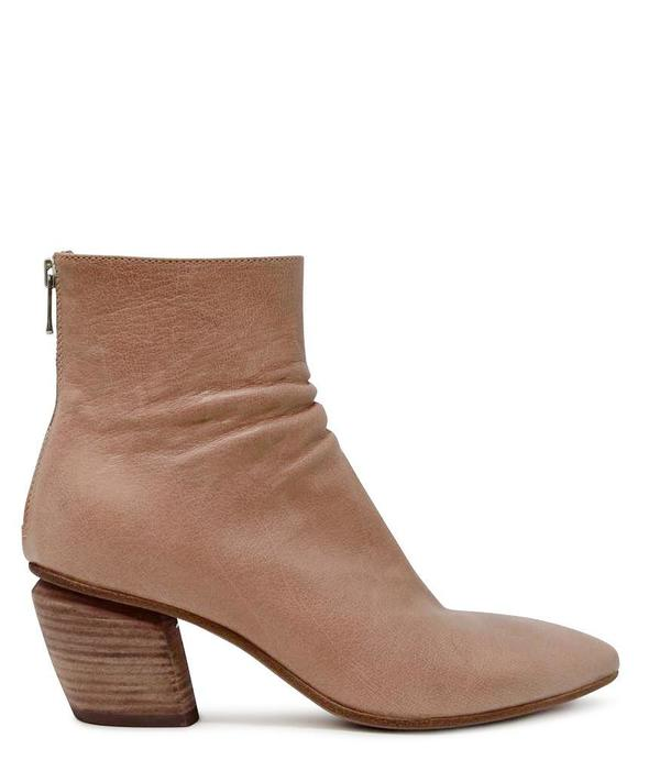 Officine Creative Leather Severine/008 Ankle Boot - Rose