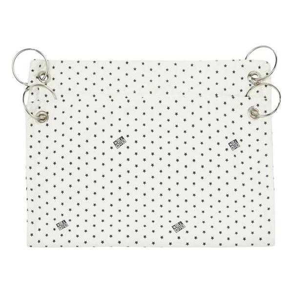 KIDS Bonton Stroller Bag - Cream With Stars