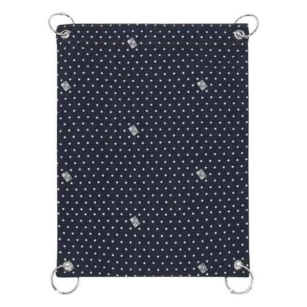 KIDS Bonton Stroller Bag - Denim Blue With Stars