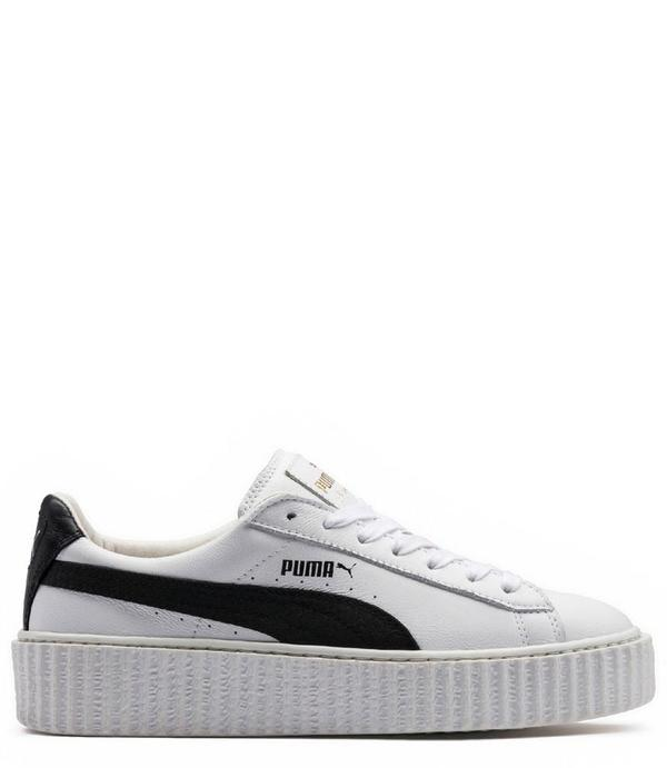 buy online 80714 409f5 Rihanna x Puma Leather Creepers - White on Garmentory
