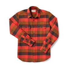 Men's Filson Vintage Flannel Work Shirt