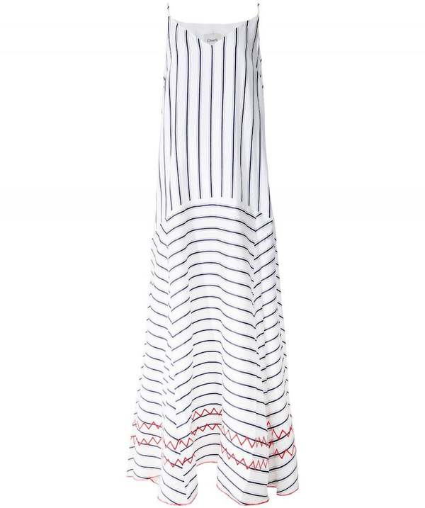 Charli Carenna Dress - Navy Stripe