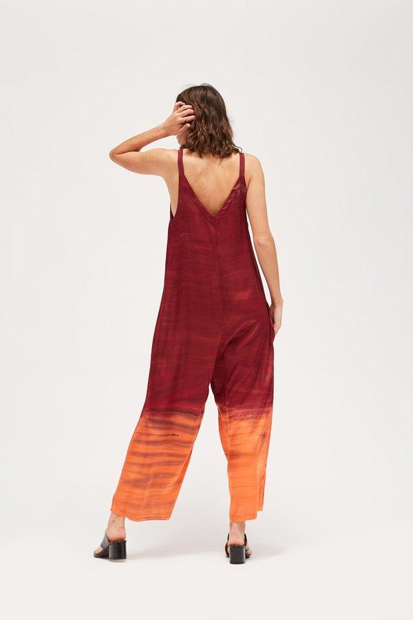 Lacausa Santi Jumpsuit - Sunset Wash