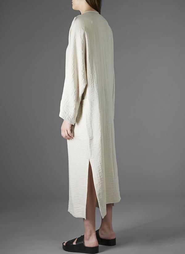 GREI PATCH POCKET KAFTAN DRESS - DESERT RIPPLE CLOTH