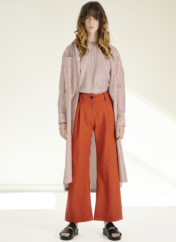 GREI WIDE WINI PANT - CANYON RED