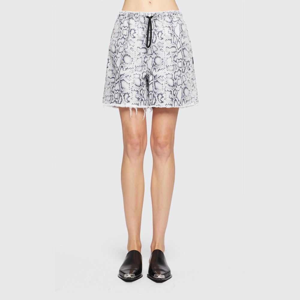 Alexander Wang Women/'s Python-Print Jogger Shorts sale