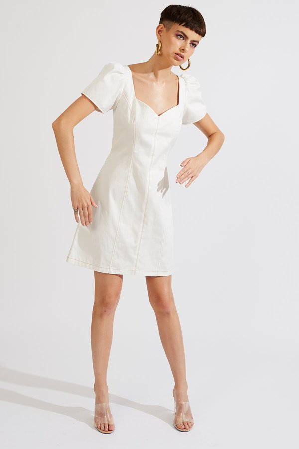 Kurt Lyle Jaydan Dress - White