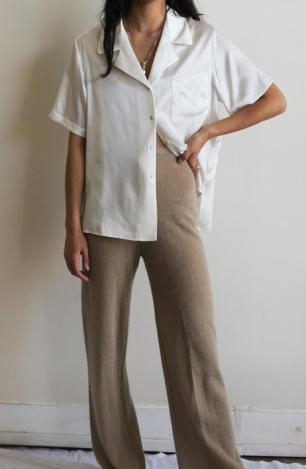 vintage jil sander mohair pants