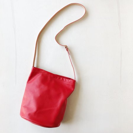 Julia Gabriel Studio Semi Largo Crossbody Bag - Cherry Red