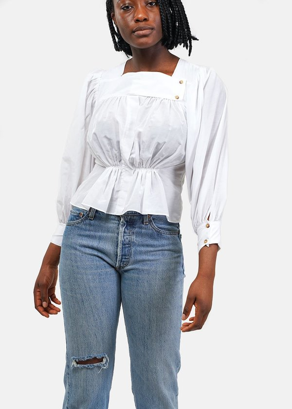ciao lucia Shell Allegra Shirt - White