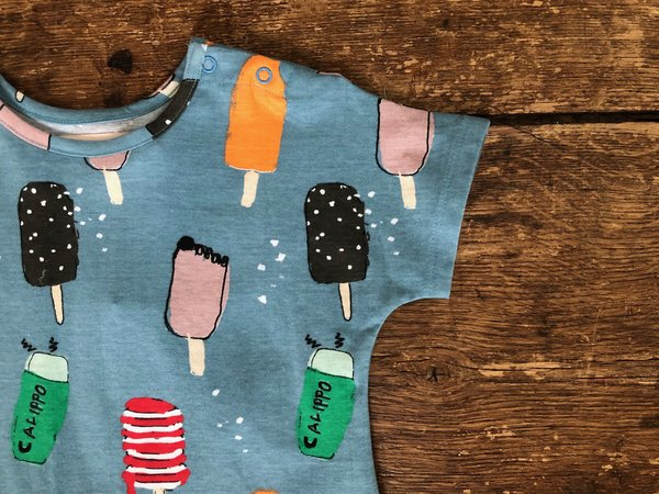 kids Nadadelazos Dress - Popsicles