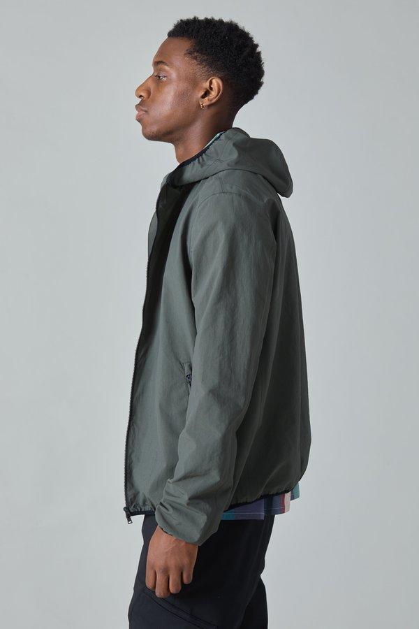 Herno Plaster Hooded Jacket - Olive